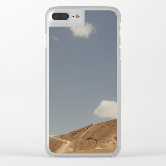 Desert Sky II Clear iPhone Case
