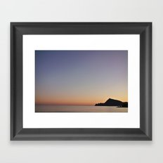 The Color Of Sunset Framed Art Print