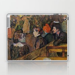 """Henri de Toulouse-Lautrec """"Ball at the Moulin de la Galette"""" Laptop & iPad Skin"""