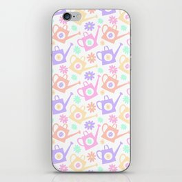 Girly Watering Can iPhone Skin