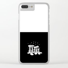 Stonehenge Clear iPhone Case