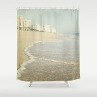 florida Shower Curtains featuring Florida by Pure Nature Photos