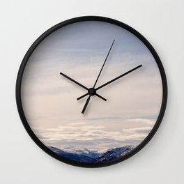 The Beauty of Norwegian landscape Wall Clock