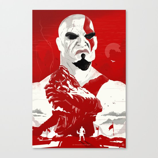God Of War - Vengeance Is Now Canvas Print