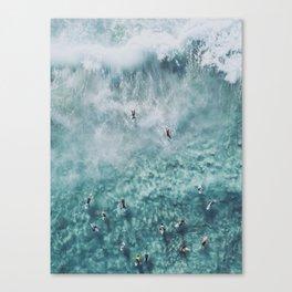 lets surf xx Canvas Print