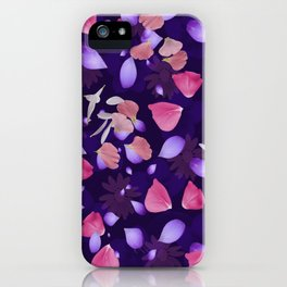 Floral pattern 11 iPhone Case