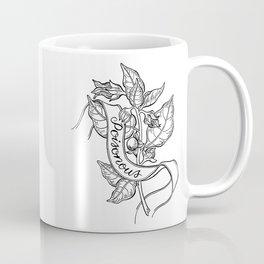 Deadly Nightshade Botanical Illustration Coffee Mug