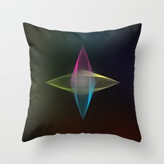 Geometrique 001 Throw Pillow