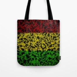 Electric Rasta Tote Bag