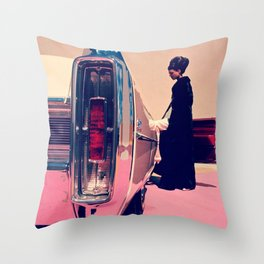 Pull Up To My Bumper Throw Pillow