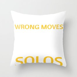 Dancing Dance No Wrong Moves Only Accidental Solos Dance Throw Pillow