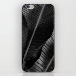 Banana leaf allure - night iPhone Skin