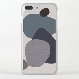 Stand no.2 Clear iPhone Case
