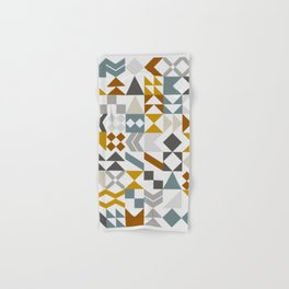 Mid West Geometric 05 Hand & Bath Towel