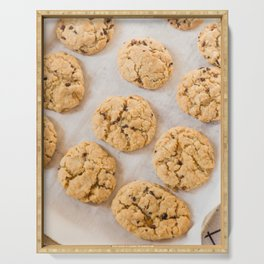 Baking Cookies Serving Tray
