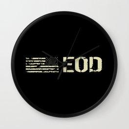 Black Flag: EOD Wall Clock