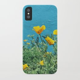 Golden Poppies iPhone Case