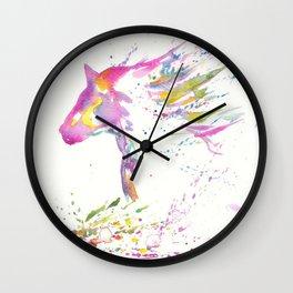 zen horse Wall Clock