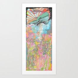 Sink Deeper Art Print