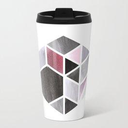 Watercolor Hexagone Travel Mug