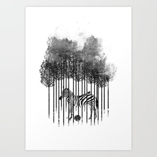 Natural Prisoner Art Print