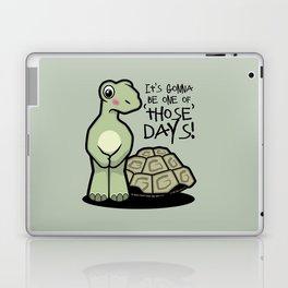 One of Those Days Naked Tortoise Laptop & iPad Skin