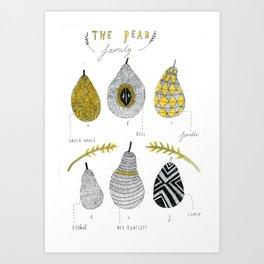 La Pear. Art Print