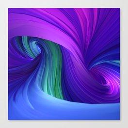 Twisting Forms #3 Canvas Print