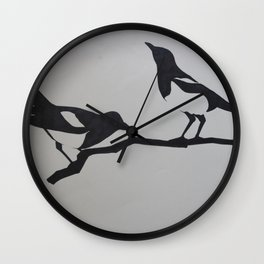 Two for joy Wall Clock