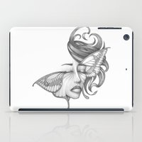 moth iPad Cases featuring Moth by Tooth & Arrow Co