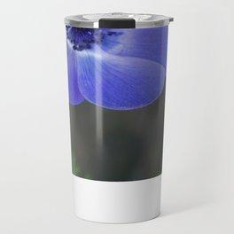 Blue Poppy Travel Mug
