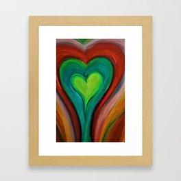 KIND HEART Framed Art Print