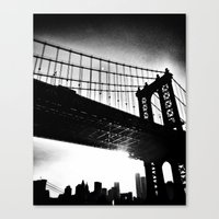 dumbo Canvas Prints featuring dumbo by Angel Lamke