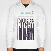 kurt vonnegut Hoodies featuring Vonnegut - Mother Night by Neon Wildlife