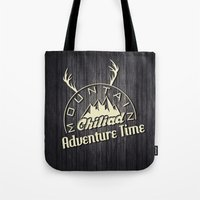 gta Tote Bags featuring GTA V Mountain Chiliad by Spyck