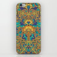 arabic iPhone & iPod Skins featuring Arabic Marigold by GEETIKAGULIA