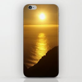 Sunset over the Canary islands iPhone Skin