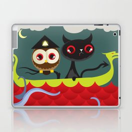 The Aleister & the Pussycat Laptop & iPad Skin