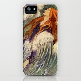 """""""Dreamland"""" Fairy Art by Florence Harrrion iPhone Case"""