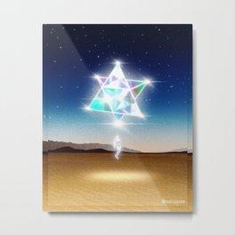 Extra-dimensional ship Metal Print