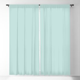 Cool Caddy ~ Pale Green Blackout Curtain