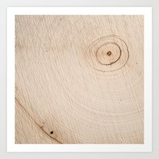 Real Wood Texture / Print Art Print