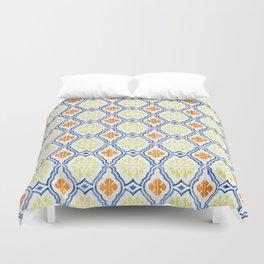 Happy Portuguese Tiles Duvet Cover