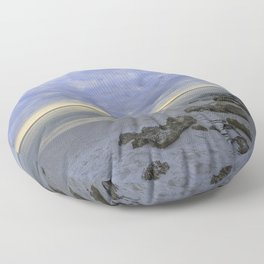 Naples Seascape 1/12 Floor Pillow