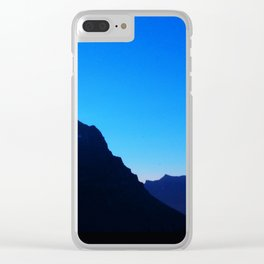 Dawn at Glacier National Park, Rocky Mountains, Going to the Sun Road, Logan Pass Clear iPhone Case