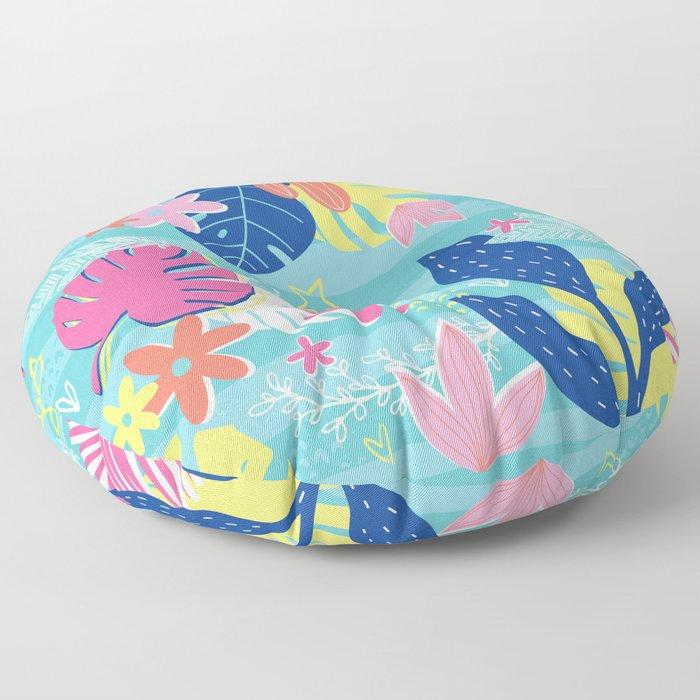 Tropical Vibes Floor Pillow