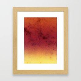 Gradient Forest Framed Art Print