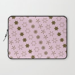 Asterisk-a-thon Pink Laptop Sleeve