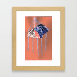 paradigm drips Framed Art Print
