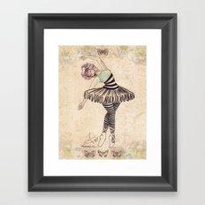 The Ballerina Dream Framed Art Print